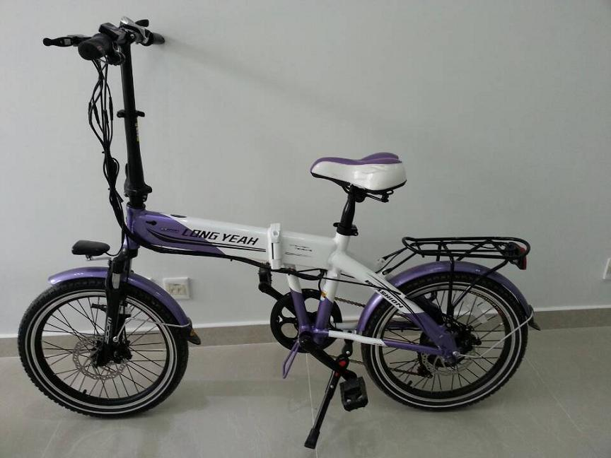 Foldable E-Bike (The forth generation)