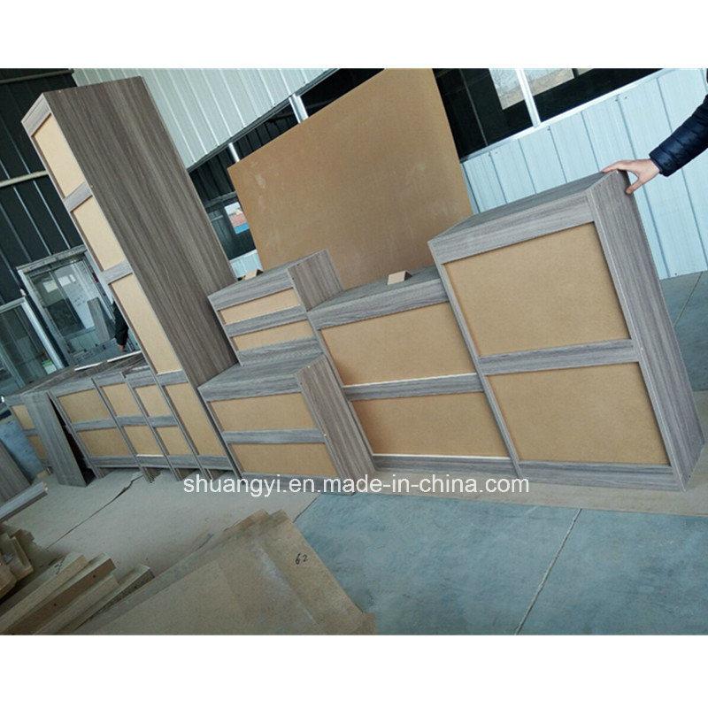 Modern Modular PVC Kitchen Cabinet Home Kitchen Cabinet Customized Kitchens