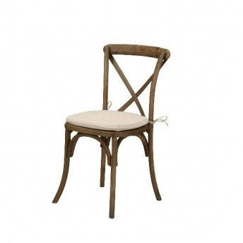 X Back Wood Wedding Chair