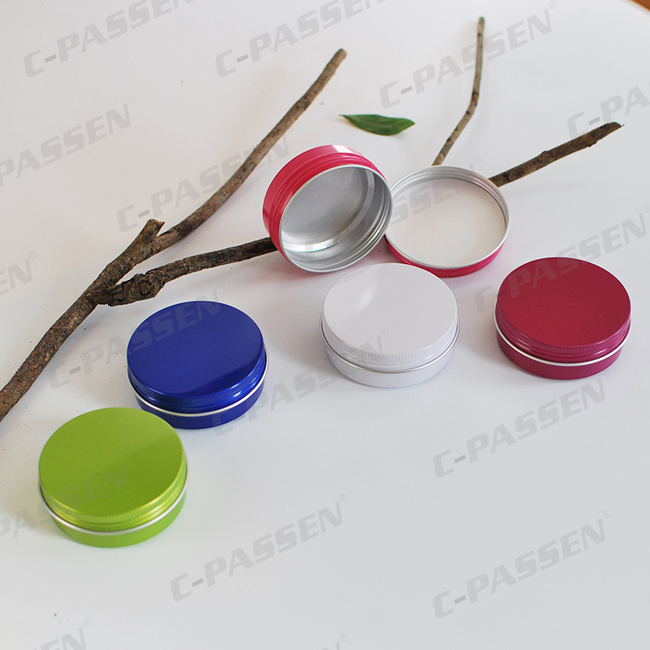 60g Colored Aluminum Gift Tin Can From China