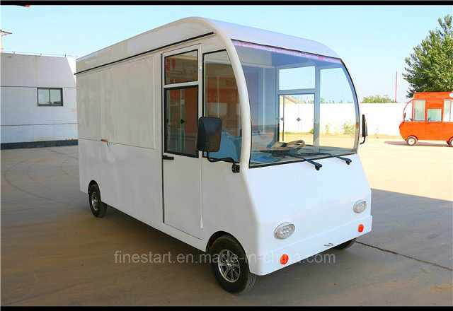 Electric Mobile Dining Car with Big Wheel