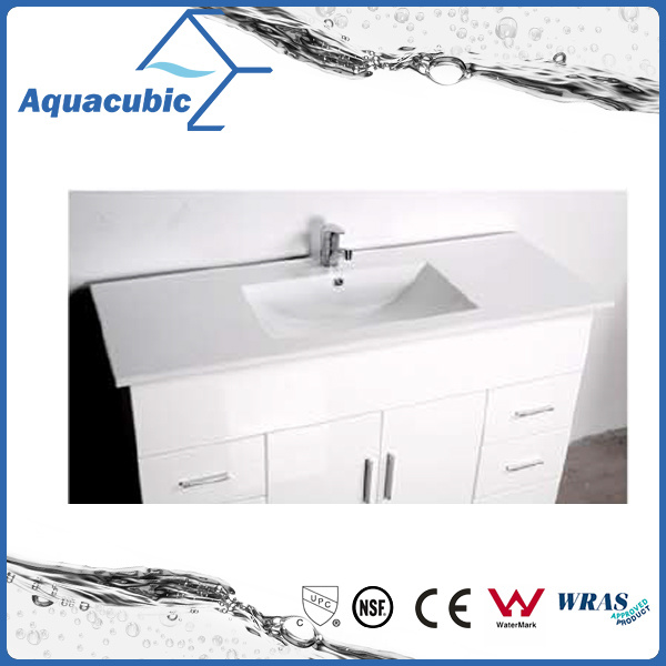 Australian Popular Customize High Glossy White Bathroom Vanity (AC8120)