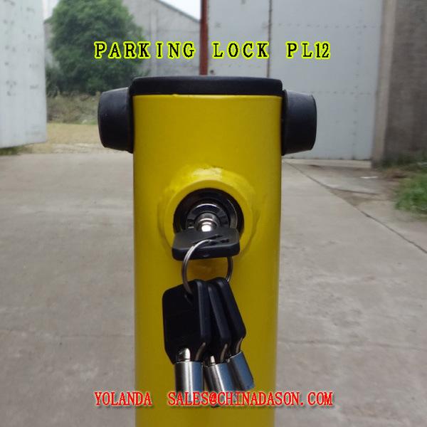 Steel Car Parking Lock Pl12