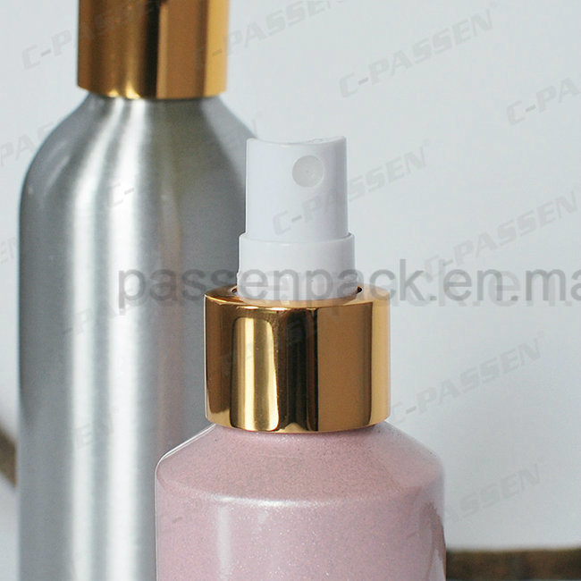 Colored Aluminum Perfume Sprayer Bottle with Spray Pump (PPC-ACB-040)