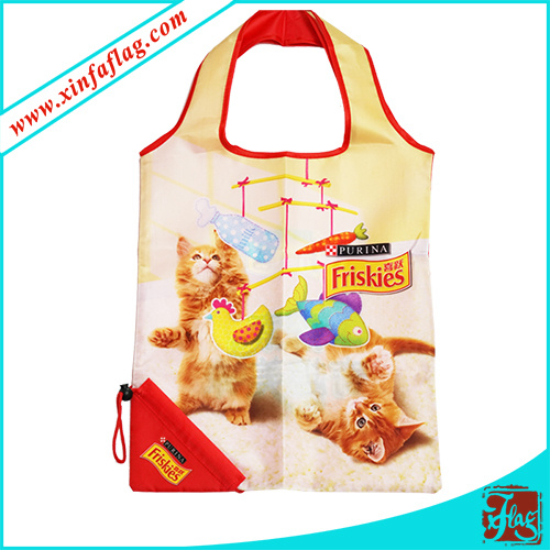 Polyester Promotion Shopping Bags, Custom Polyester Bags