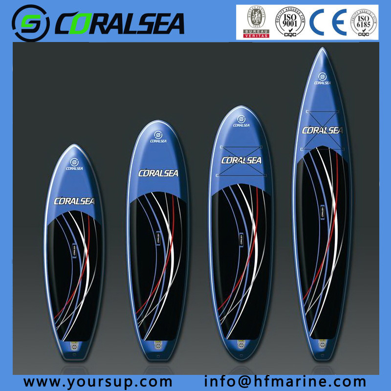 "Beautiful Design Inflatable Surf Top Quality Kayak Paddle (Wing 12′6"")"