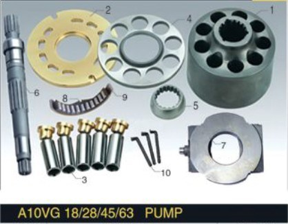 Rexroth Series Piston Pump Engine Parts A10vg18/28/45/63 Plunger Pump Hydraulic Pump Repair or Remanufacture Spare Parts