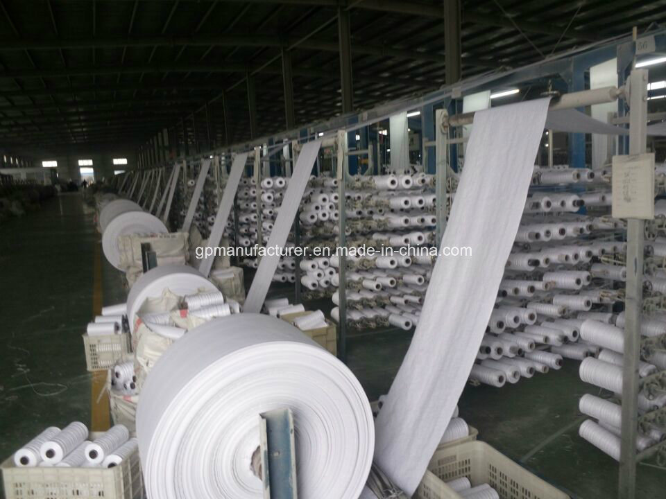 PP Vrigin Material Woven Geotextile with High Tensile Strength