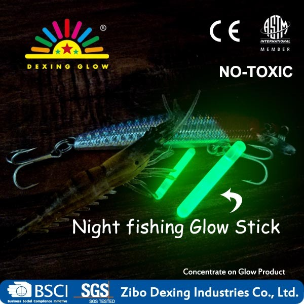 1′′ Glow Sticks Tip Float Night Fishing Light