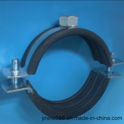 Plumbing Pipe Clamps with Rubber (21/2′′)