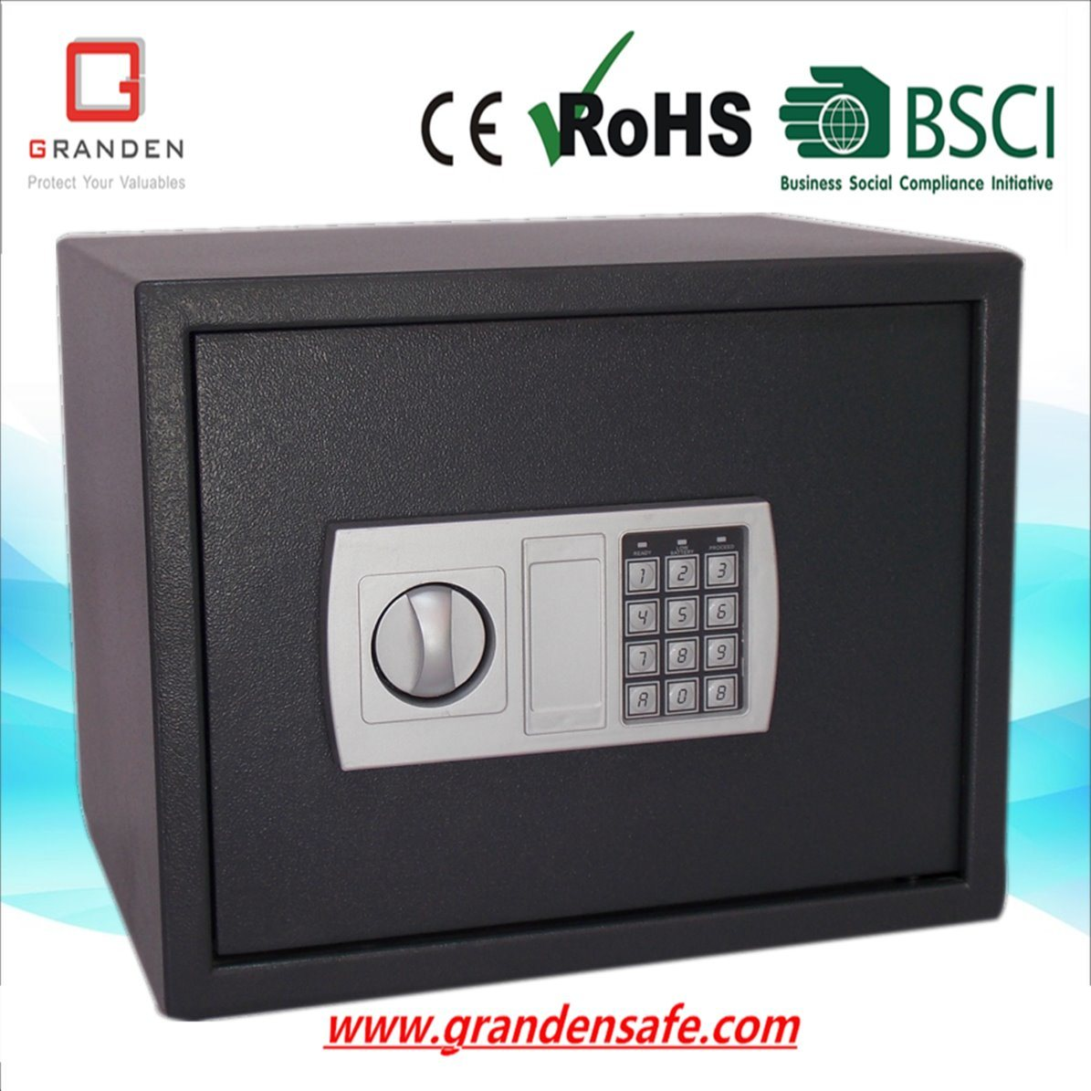 Electronic Safe Box for Home and Office (G-30ED) , Solid Steel