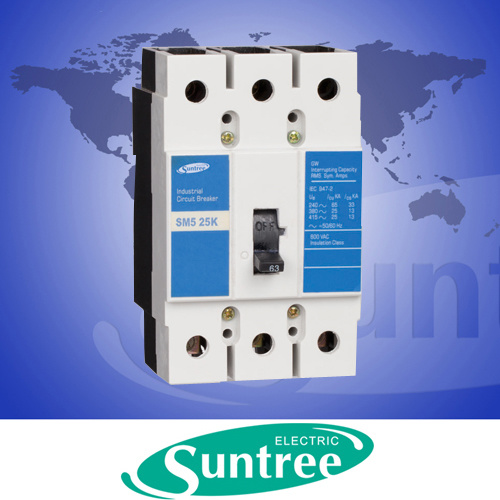 Moulded Case Circuit Breaker (Fixed Thermal -Magnetic Type)