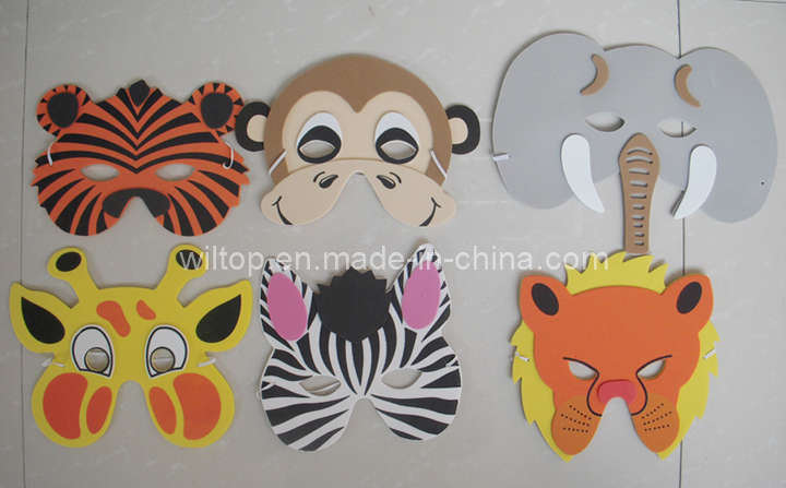 Funny EVA Foam Jungle Animal Masks (PM120)