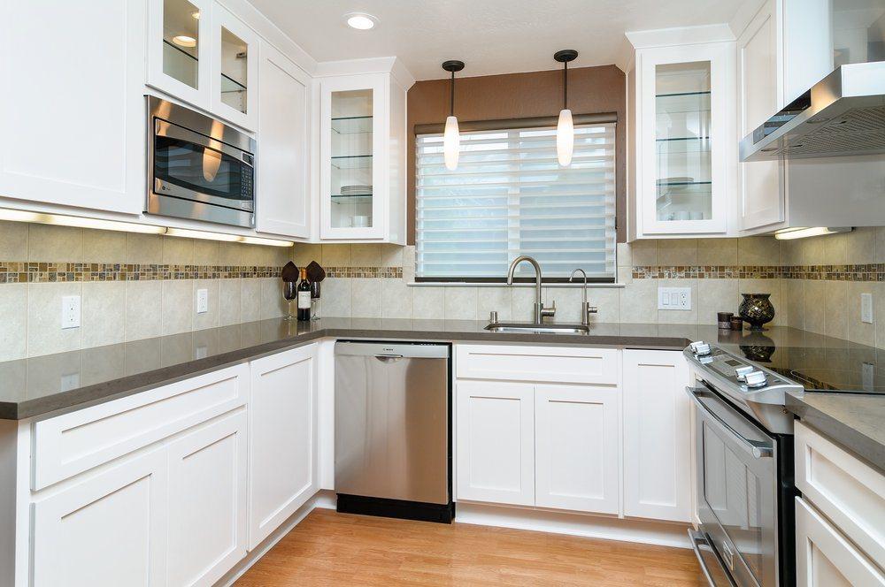 China wholesale wood kitchen cabinets high gloss kitchen for Cheap wood kitchen cabinets