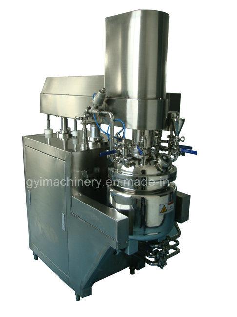 Cream Ointment Soft Gel Vacuum Emulsifying Mixer (ZRJ-20-D)
