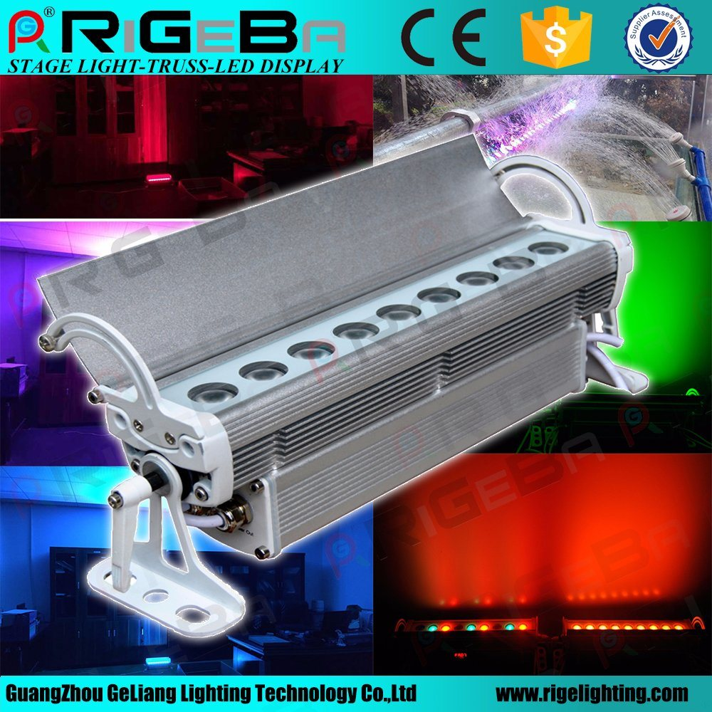 Best Selling Stage Waterproof 9LED 3W RGB or RGB 3in1 Outdoor LED Wall Washer
