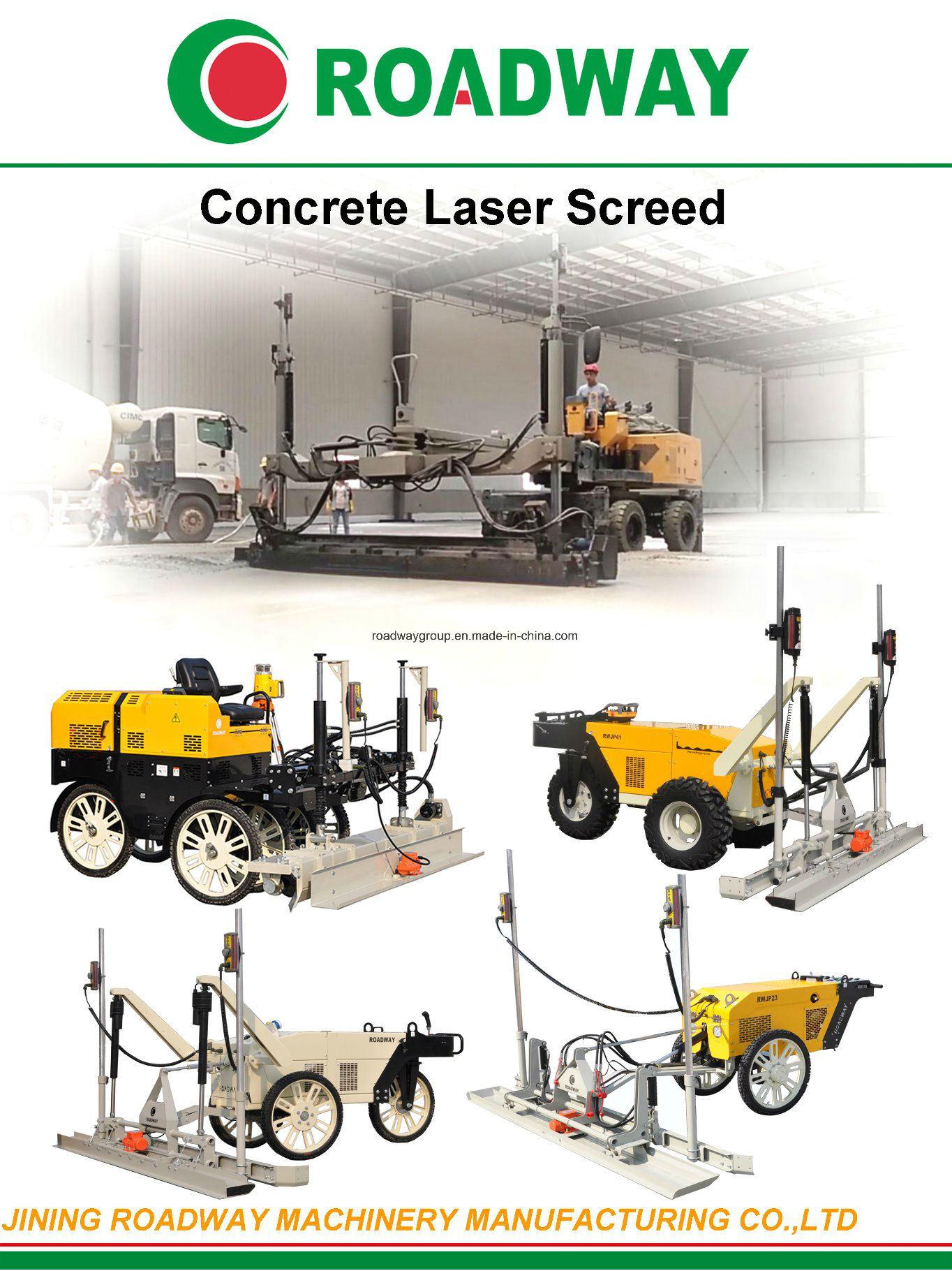 Flooring Concrete Hydraulic Leveling Laser Screed