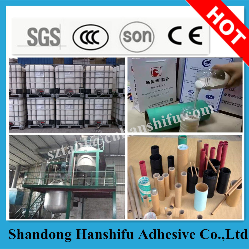 Hot Sale Water Based Adhesive Glue for Paper Core Tube