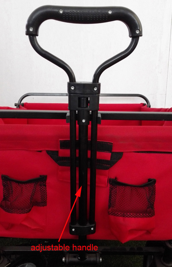 Collapsible Folding Utility Wagon Garden Cart Outdoors