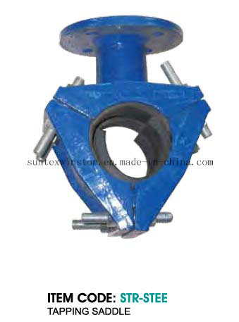 Tapping Saddle Flanged Outlet