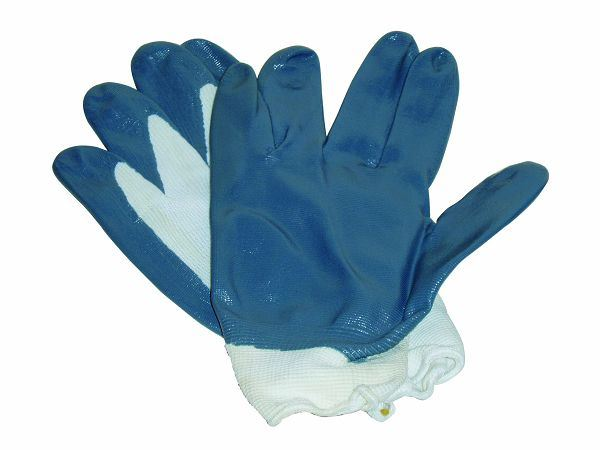 Working Leather Gloves with CE Approval (SQ-055)