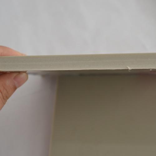Grey PP & PE Plastic Sheet in 4 X 8 Ft