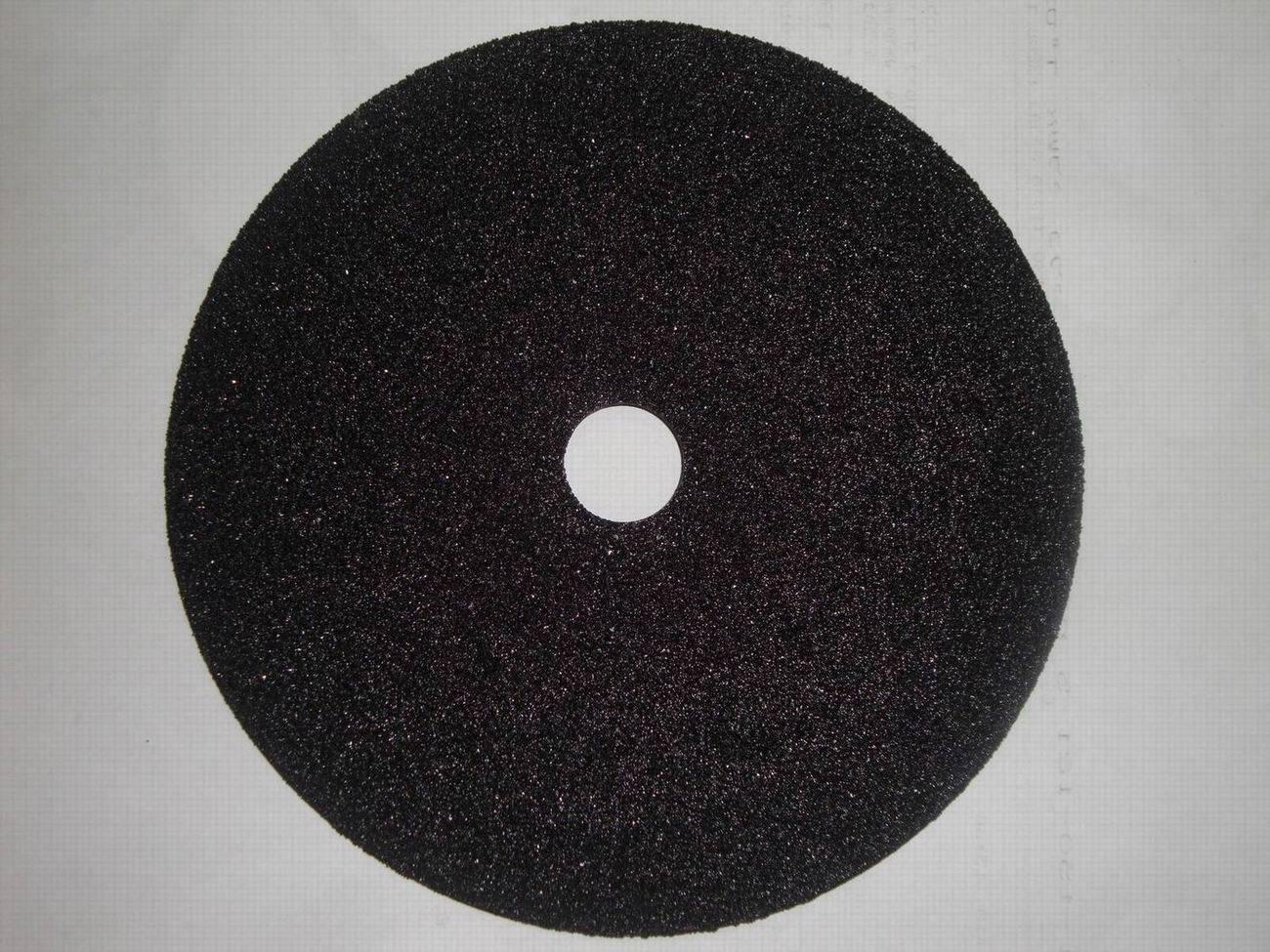Silicon Carbide Fibers : China silicon carbide fiber disc abrasive fibre