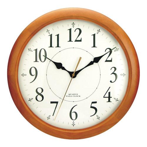 Quartz Wooden Wall Clock  F6416A Quartz Clocks