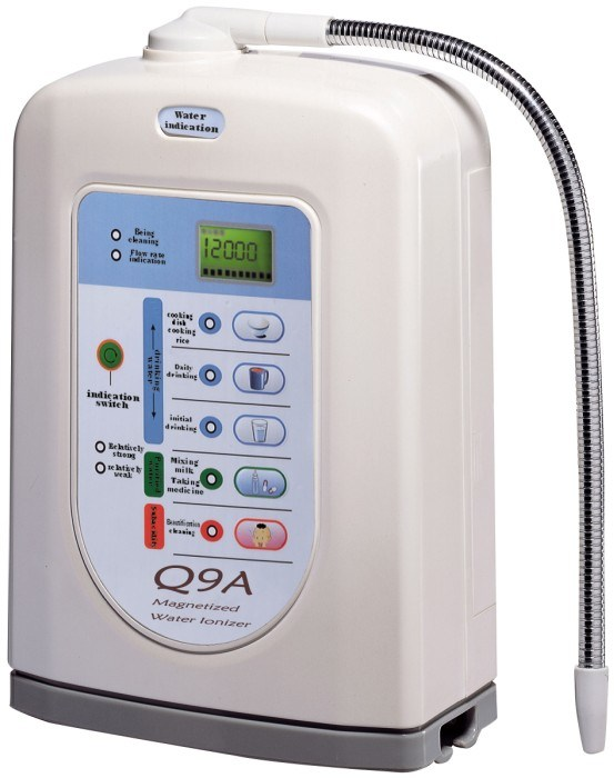 Alkaline Water Ionizer (Japan Tech, China manufacturer) with Built-in UF Filter and External Filter (Q9A)
