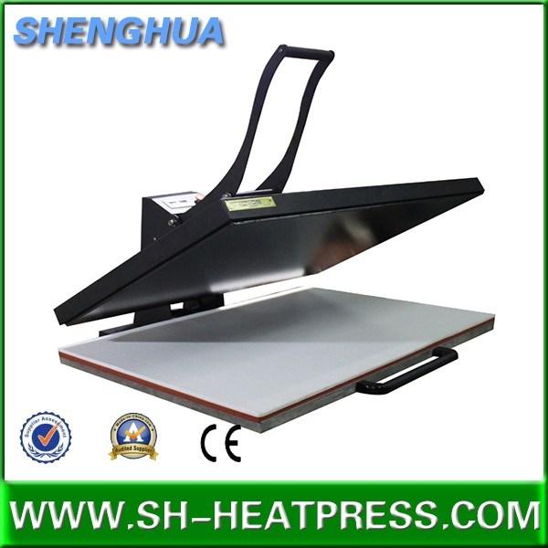 60X80cm 60X100cm 70X100cm Manual Large Format Heat Transfer Printing Big Size Heat Press