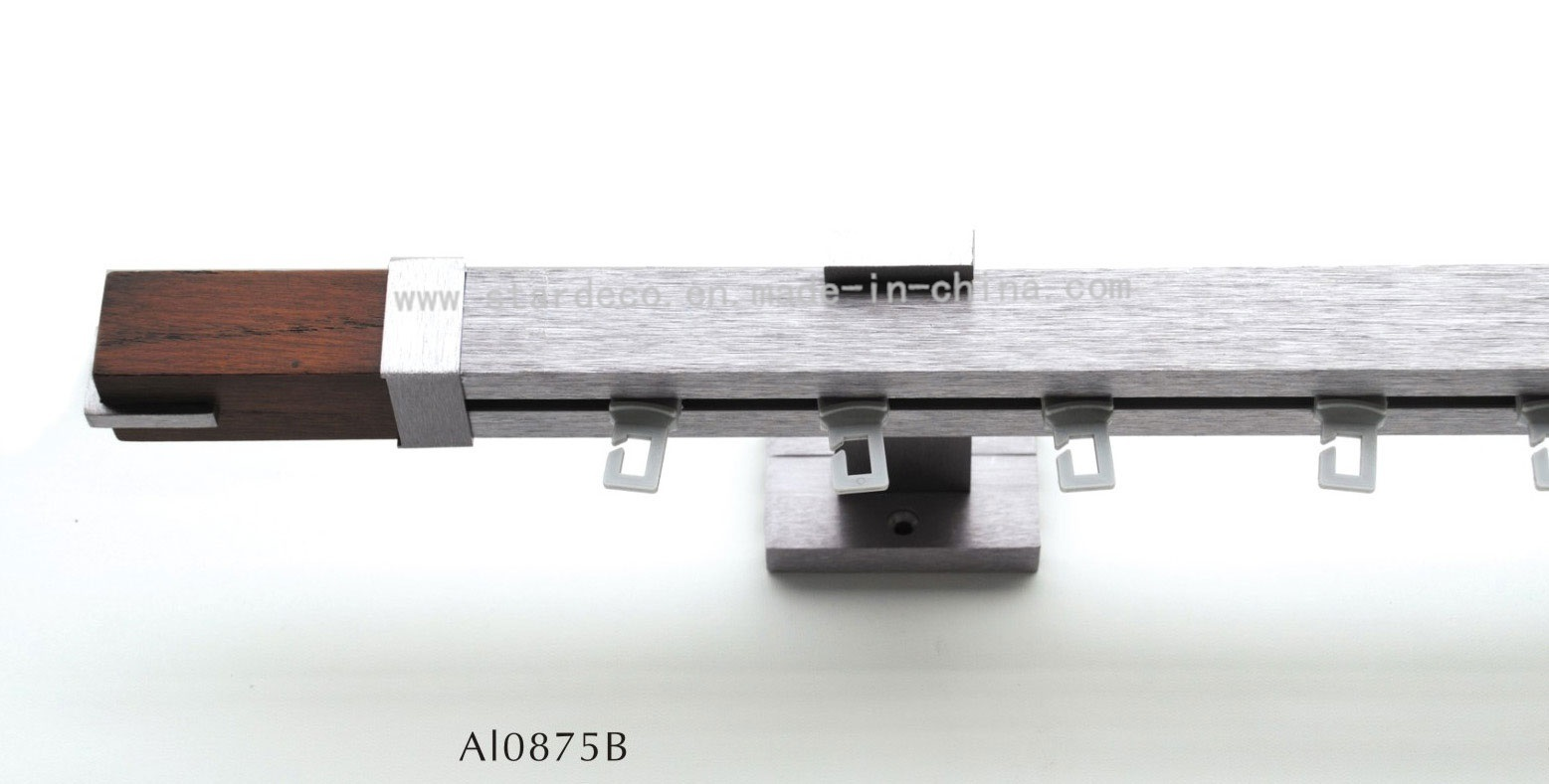China Modern Curtain Rail (Al0875B) Photos & Pictures - Made-in-china ...