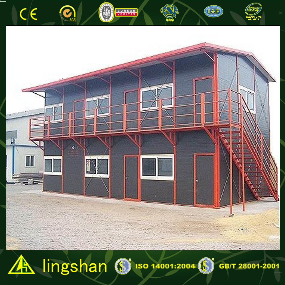 Steel Structure Frame House/Movable House (LS-MC-039)