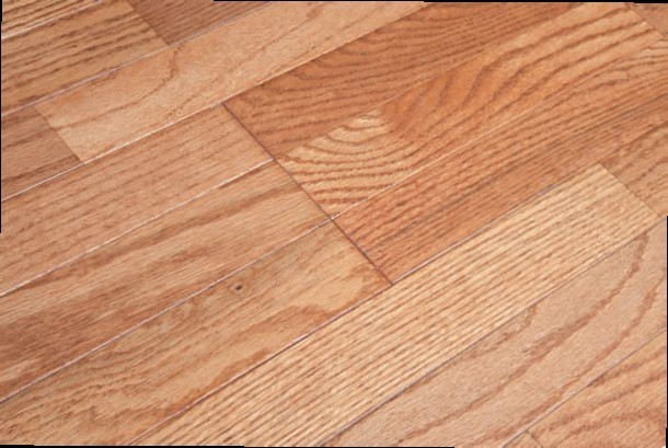 Oak Engineered Wood Flooring-3 Strips Flat Surface with Wheat Color V Shapes T& G