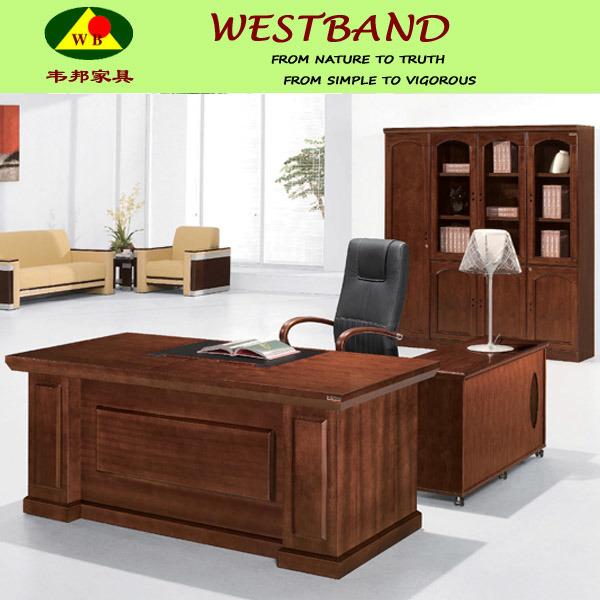 Moderna de madera maciza muebles de oficina moderna de for Muebles de oficina modernos precios