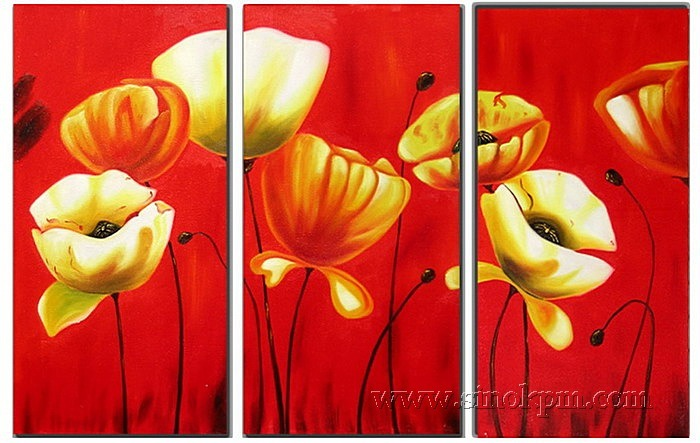 Irises Flower Painting Irises Modern Flower Paintings