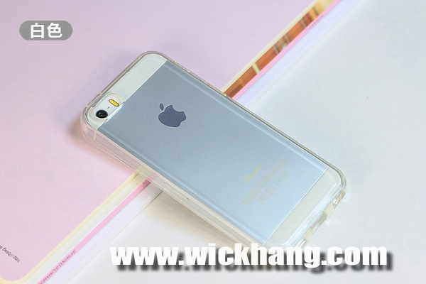 for iPhone 5c Case, Clear TPU Gel Soft Phone Case for iPhone 5c
