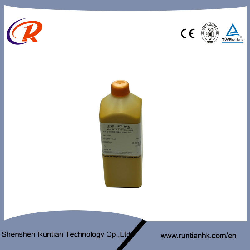 1L 5 Colors Eco Friendly Solvent Printer Ink for Dx5