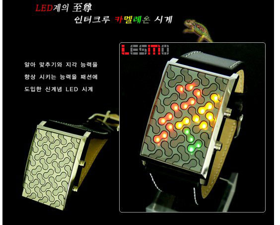 intercrew led watch