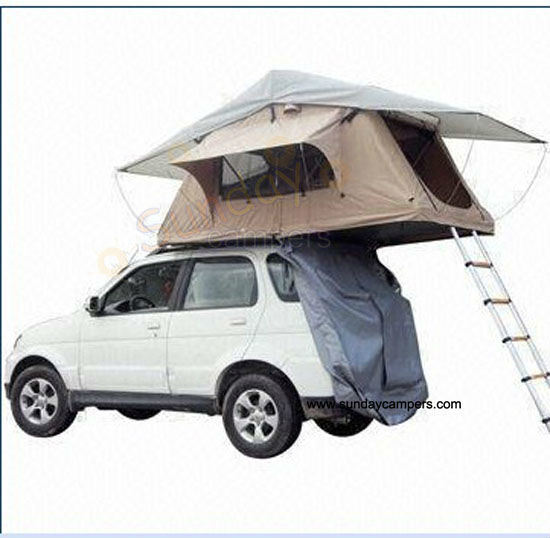 China Lightweight Roof Top Tent Car Top Campers Roof