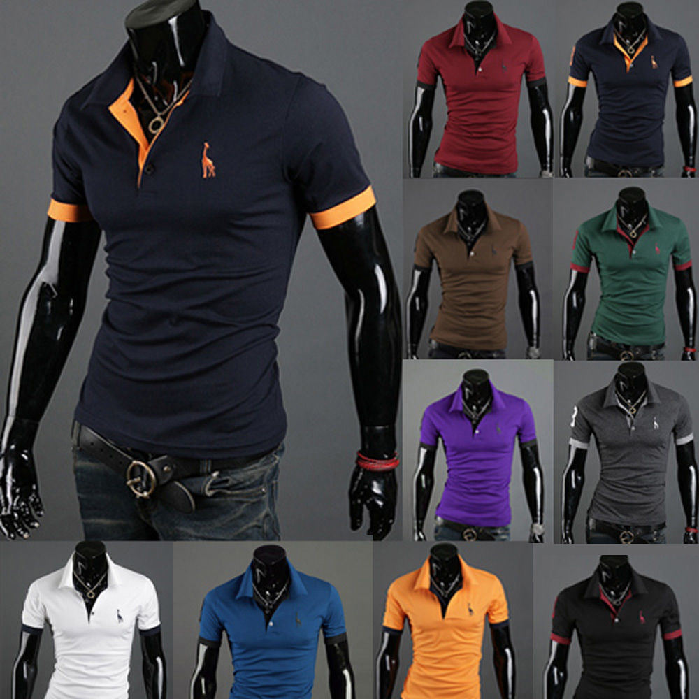 Wholesale Man Golf 100% Cotton Polo T Shirt for Men (A305)