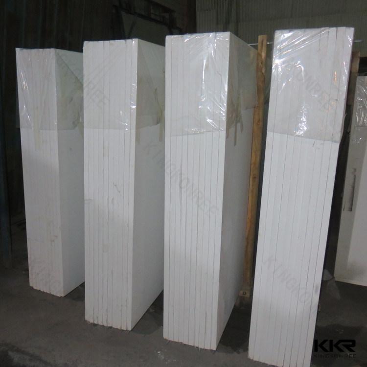 Scratch Resistant Engineered Stone Calacata Quartz Slab