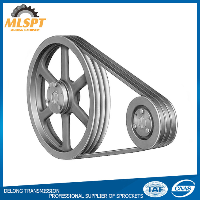 Machinery High Efficiency V Belt Cast Iron Pulley