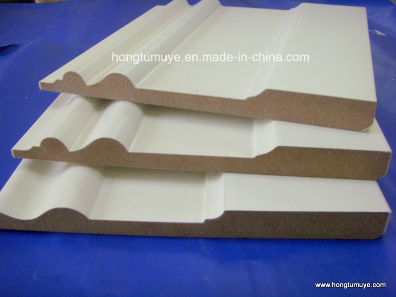 Primed Pine Baseboards
