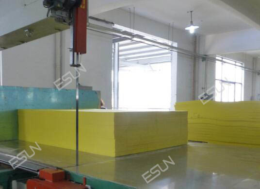 Vertical Foam Cutting Machine ELQ-4L