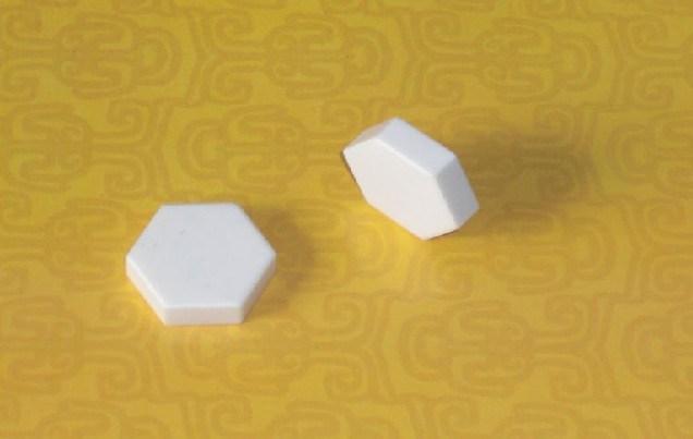 92% Alumina Ceramic Hex Tablets