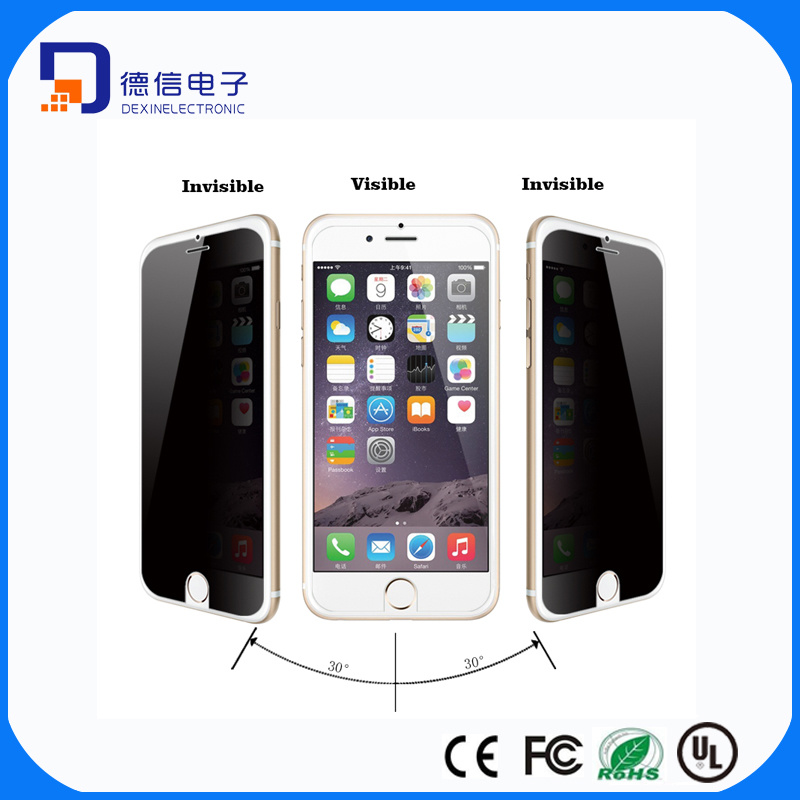 0.33mm Anti-Spy Tempered Glass Screen Protector for iPhone6