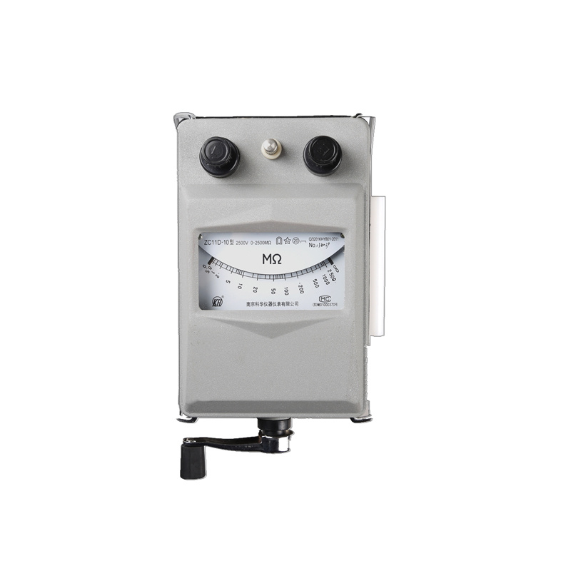 High Quality Insulation Resistance Meter (ZC11D-10)