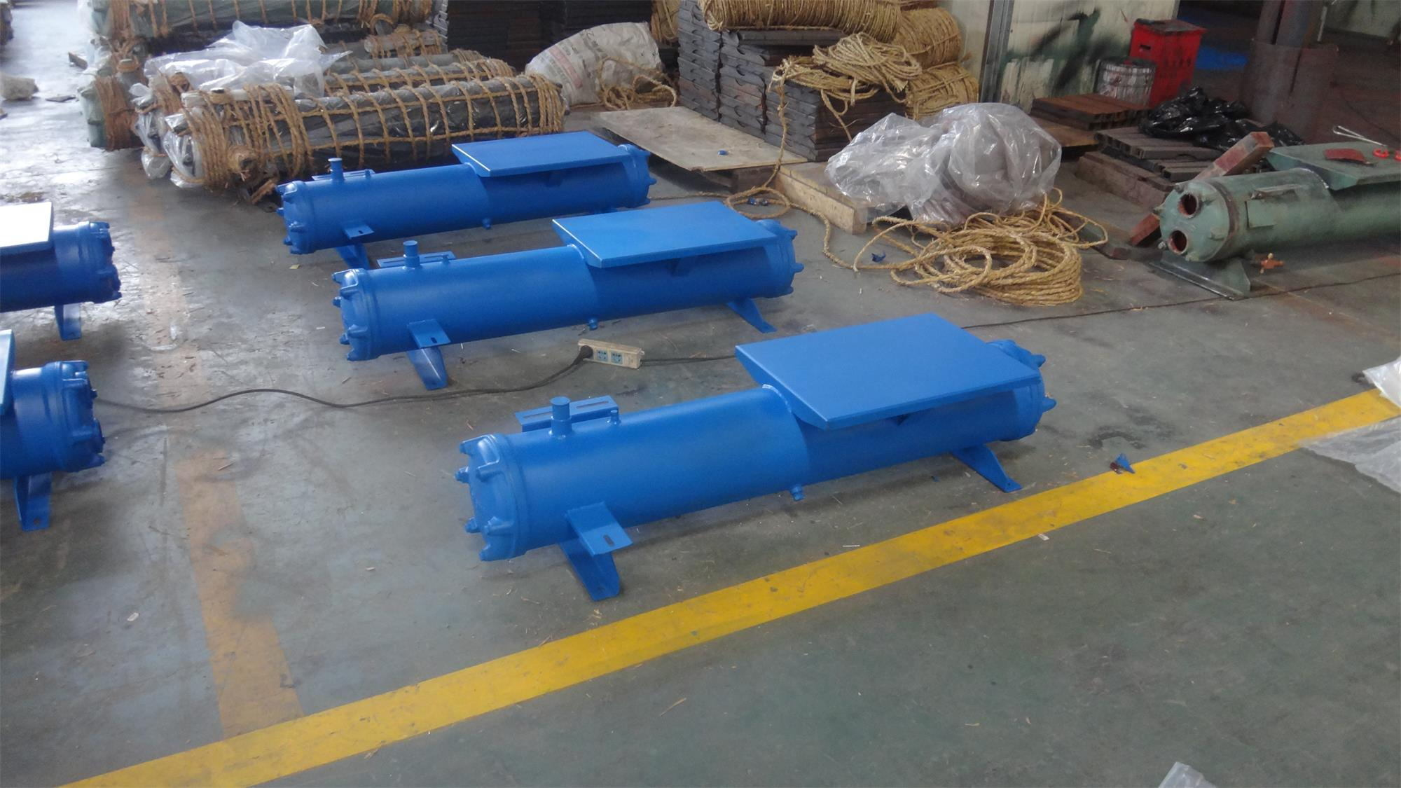 China Hot Sale Shell Tube Water Cooled Condenser for Condensing Unit