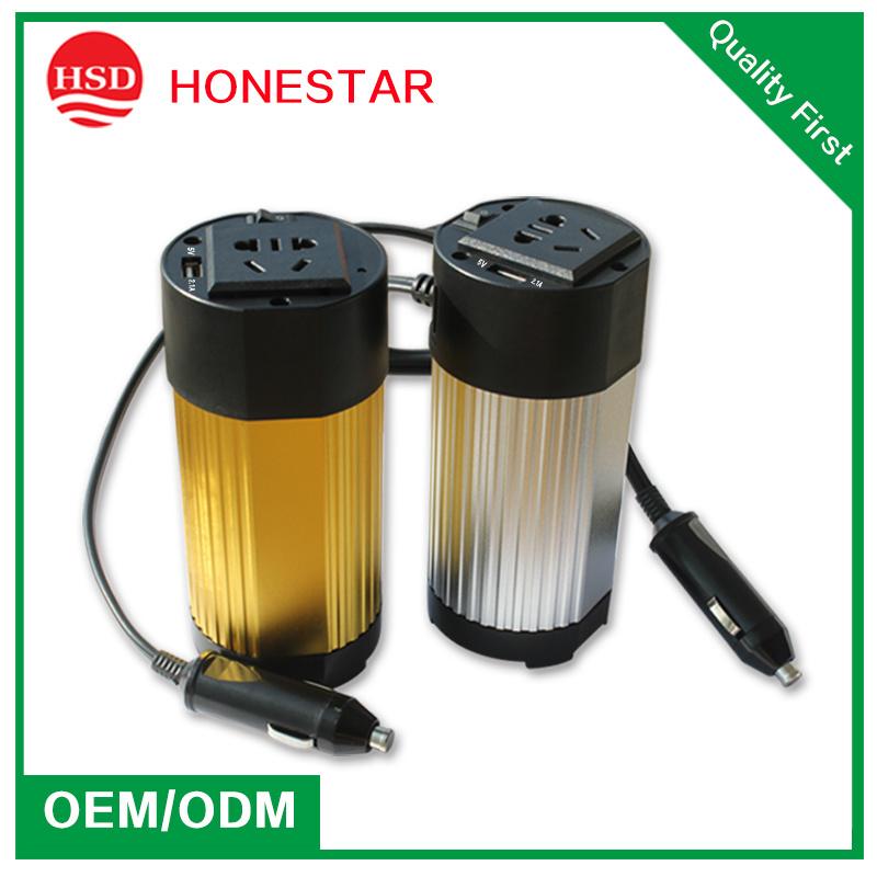 12V/24V to 110V/220V 150W High Quality Car Power Inverter
