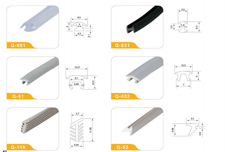 Export Plastic Extrusion PVC Window Profile From China Manufacturer Q-091